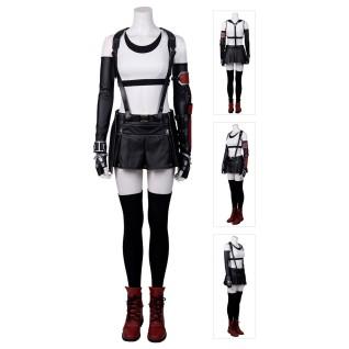 FF7 Remake Tifa Costume Final Fantasy VII Cosplay Suit