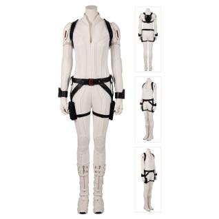 Black Widow Natasha Romanoff White Cosplay Costume