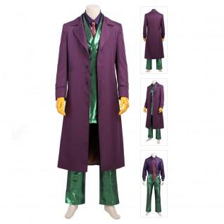 Batman The Dark Knight Joker Cosplay Costume Outfit