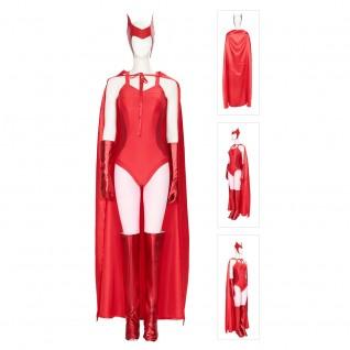 Scarlet Witch Cosplay Wanda Maximoff Costumes WandaVision Suit
