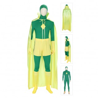 WandaVision Vision Cosplay Costumes Outfit