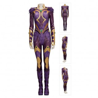 Starfire Costume Titans 3 Cosplay Suits