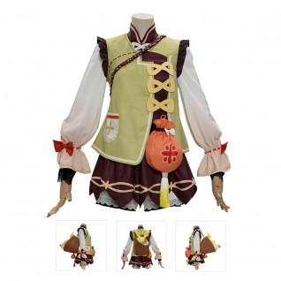 Yaoyao Costume Genshin Impact Cosplay Costumes