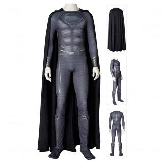 Superman Black Costume Man Of Steel 2 Cosplay Suits