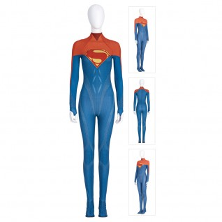 Supergirl Cosplay Costumes The Flash Movie Supergirl Suit