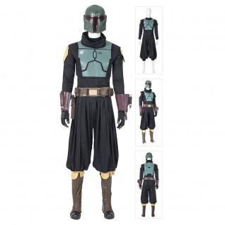 The Mandalorian Boba Fett Cosplay Costumes Star Wars Suit