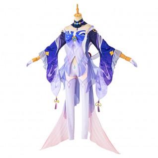 Sangonomiya Kokomi Costume Genshin Impact Cosplay Suits
