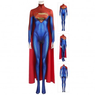 Superwoman Costume 2022 New Movie The Flash Cosplay Suits