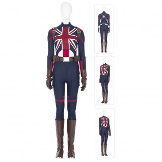 Peggy Carter Cosplay Costumes What If Captain Carter Cosplay Suits