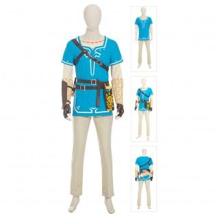 Link Costume The Legend of Zelda: Breath of the Wild Cosplay Suits