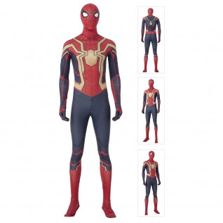 Iron Spiderman Cosplay Suit Spider-Man Peter Parker Costumes