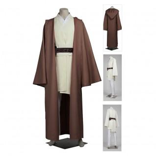 Obi-Wan Kenobi Costume Star Wars Jedi Knight Suits