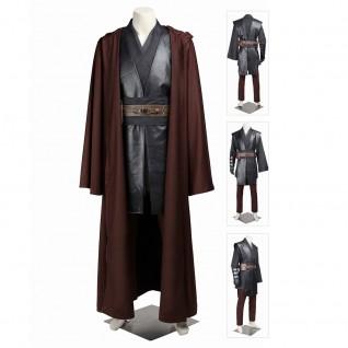 Star Wars Jedi Knight Anakin Skywalker Cosplay Costume Improved Version