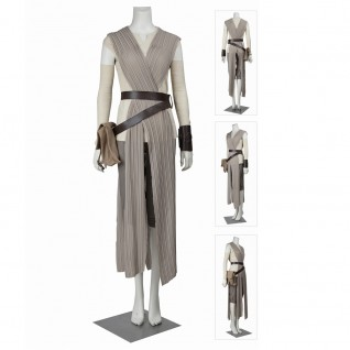 Star Wars The Force Awakens Cosplay Costumes Rey Cosplay Costume