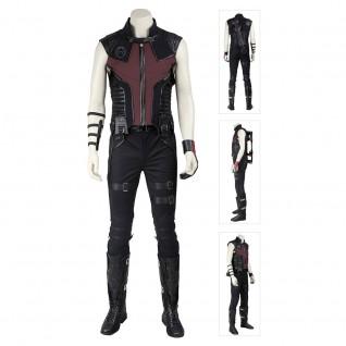 The Avengers 1 Clinton Barton Hawkeye Cosplay Costume