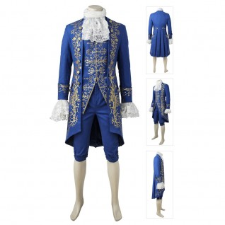 Adam Dan Stevens The Prince Costume Beauty and The Beast Cosplay Costumes