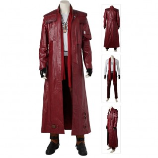 Guardians of the Galaxy 2 Star-Lord Cosplay Costume Full Set Suits
