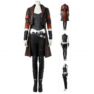 Guardians of the Galaxy 2 Gamora Cosplay Costumes Full Set