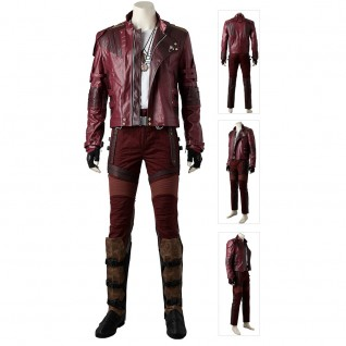 Star-Lord Costume Guardians of The Galaxy 2 Cosplay Suits
