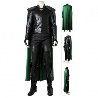 Loki Cosplay Costume Thor 3 Cosplay Suits