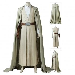 Star Wars 8 The Last Jedi Luke Skywalker Cosplay Costumes