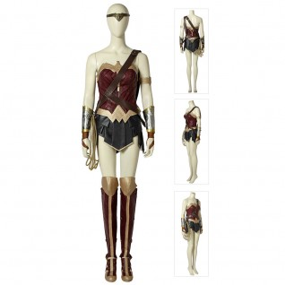 Diana Prince Cosplay Costume Wonder Woman Cosplay Costumes Full Set Suits