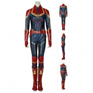 Carol Danvers Suit Marvel Movie Captain Marvel Cosplay Costumes