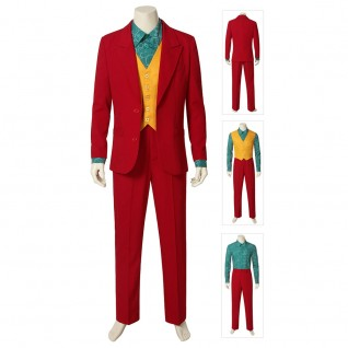 The Joker Origin Suit Arthur Fleck Cosplay Costume