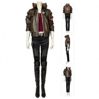 Cyberpunk 2077 Heroine Cosplay Suit Costumes
