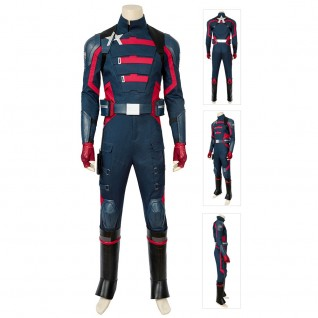 Falcons and The Winter Soldier Suit U.S. Agent Captain America Cosplay Costume