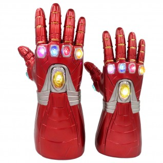 The New Avengers Cosplay Gloves Iron Man Glowing Gloves