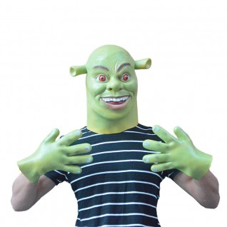 Halloween Funny Cosplay Gloves Shrek Gloves