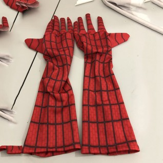 Spiderman Gloves Cosplay Props Gloves for Halloween Party