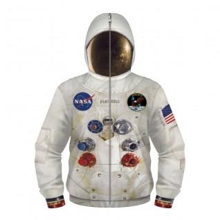 Nasa Astronaut Hoodie Zip Up Long Sleeve Sweatshirt for Kids