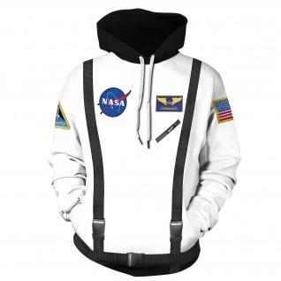 New Nasa Astronaut Sweatshirt 3D Print Long Sleeve Hoodies