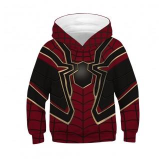 Kids Spiderman Hoodie Avengers Endgame Long Sleeve Sweatshirt