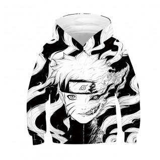 Kids Naruto Hoodie 3D Printed Pattern Long Sleeve Hoodies
