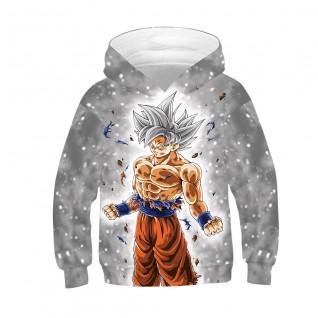 Kids Dragon Ball Son Goku Hoodie Kakarotto Anime Long Sleeve Sweatshirt