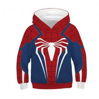 Kids Spider-Man Hoodie Avengers Endgame Long Sleeve Sweatshirt