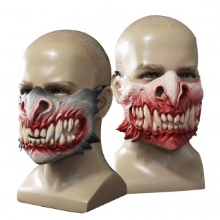 Halloween 2021 New Product Zombie Tooth Mutation Horror Mask