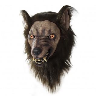 Halloween New Product Simulation Animal Headgear Wolf Head Mask