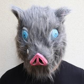Anime Cosplay Props Demon Slayer Blade Mouth Hirasuke Boar Mask