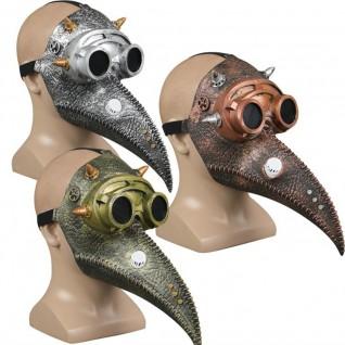 Halloween Horror Helmet Steampunk Beak Mask