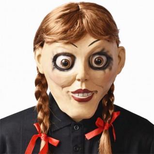 Halloween Horror Helmet Annabelle Comes Home Annabelle Mask