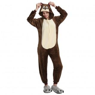 Chipmunk Kigurumi Animal Onesie Pajama Costumes for Adult