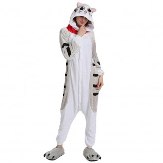 Chi's Sweet Home Cat Kigurumi Animal Onesie Pajama Costumes for Adult