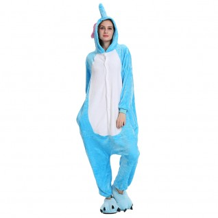 Elephant Kigurumi Animal Onesie Pajama Costumes for Adult