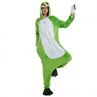 Green Snake Kigurumi Animal Onesie Pajama Costumes for Adult