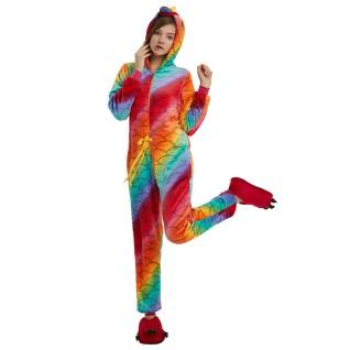 Fish Belt Unicorn Kigurumi Onesies Pajamas Animal Onesies for Adult