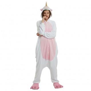 Golden Horn Unicorn Kigurumi Animal Onesie Pajama Costumes for Adult